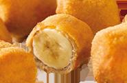 Banane im Backteig